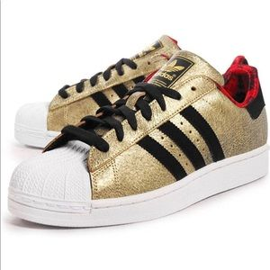 Rare adidas superstar II Chinese New Year Sneakers